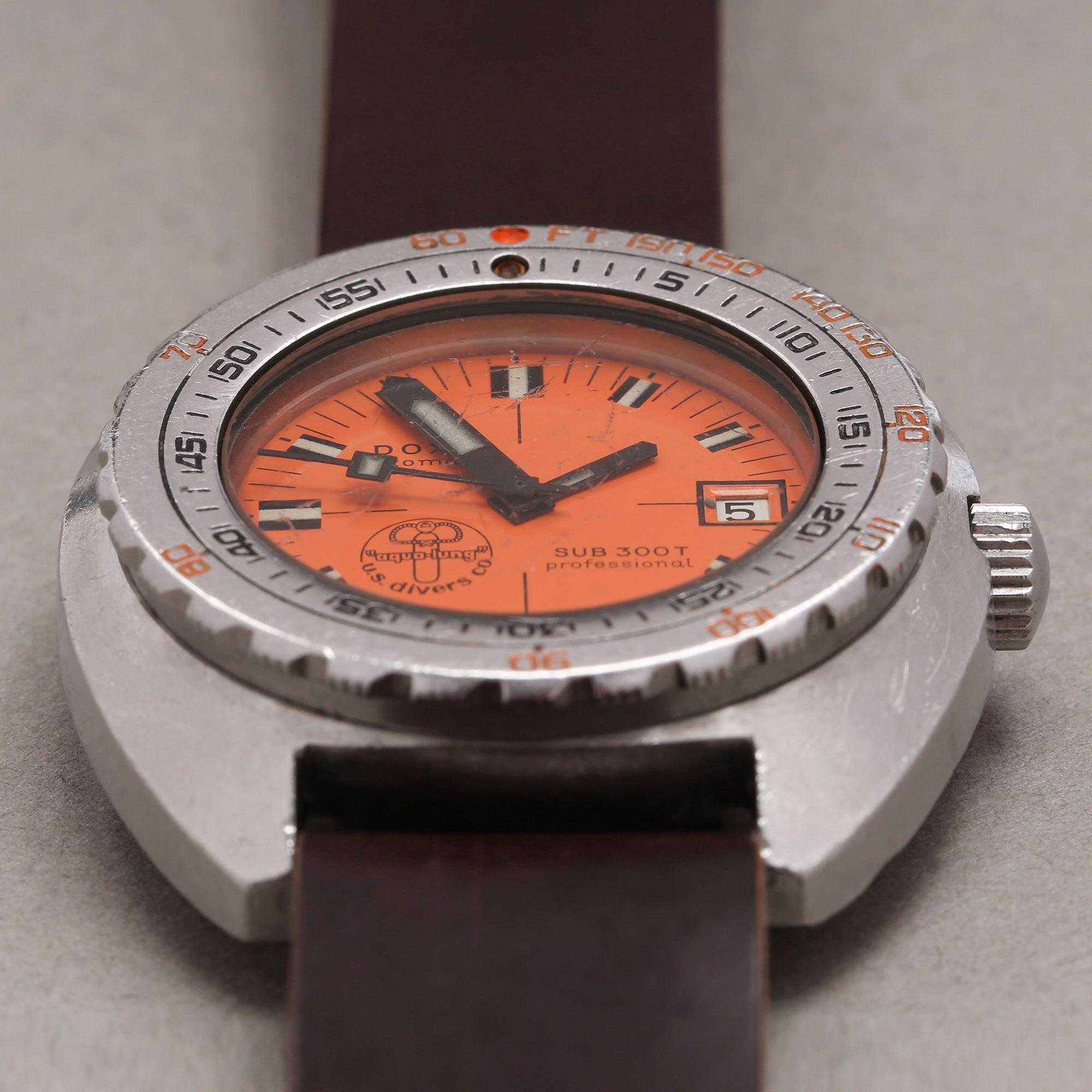 Doxa Sub 300 T 'Aqua-Lung U.S Divers Logo' Roestvrij Staal 11899