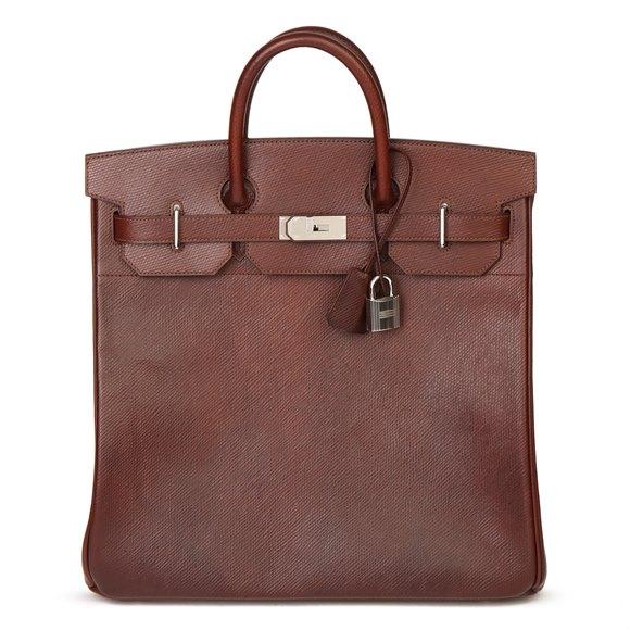 Hermès Brown Volynka Russian Leather Birkin 40cm HAC