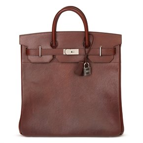Hermès Brown Volynka Russian Leather Birkin 40cm HAC