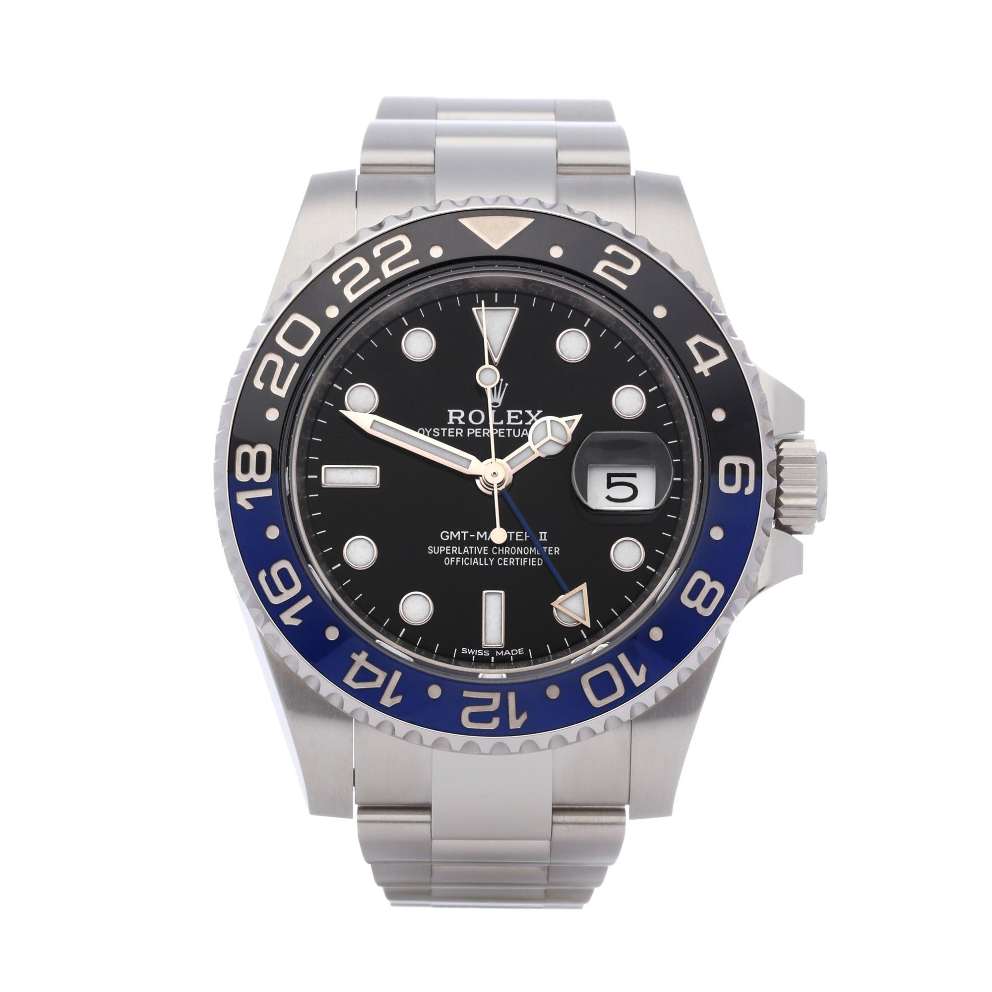 Rolex GMT-Master II 'Batman' Stainless Steel 116710BLNR