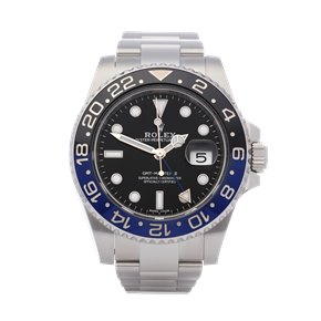 Rolex GMT-Master II 'Batman' Stainless Steel - 116710BLNR