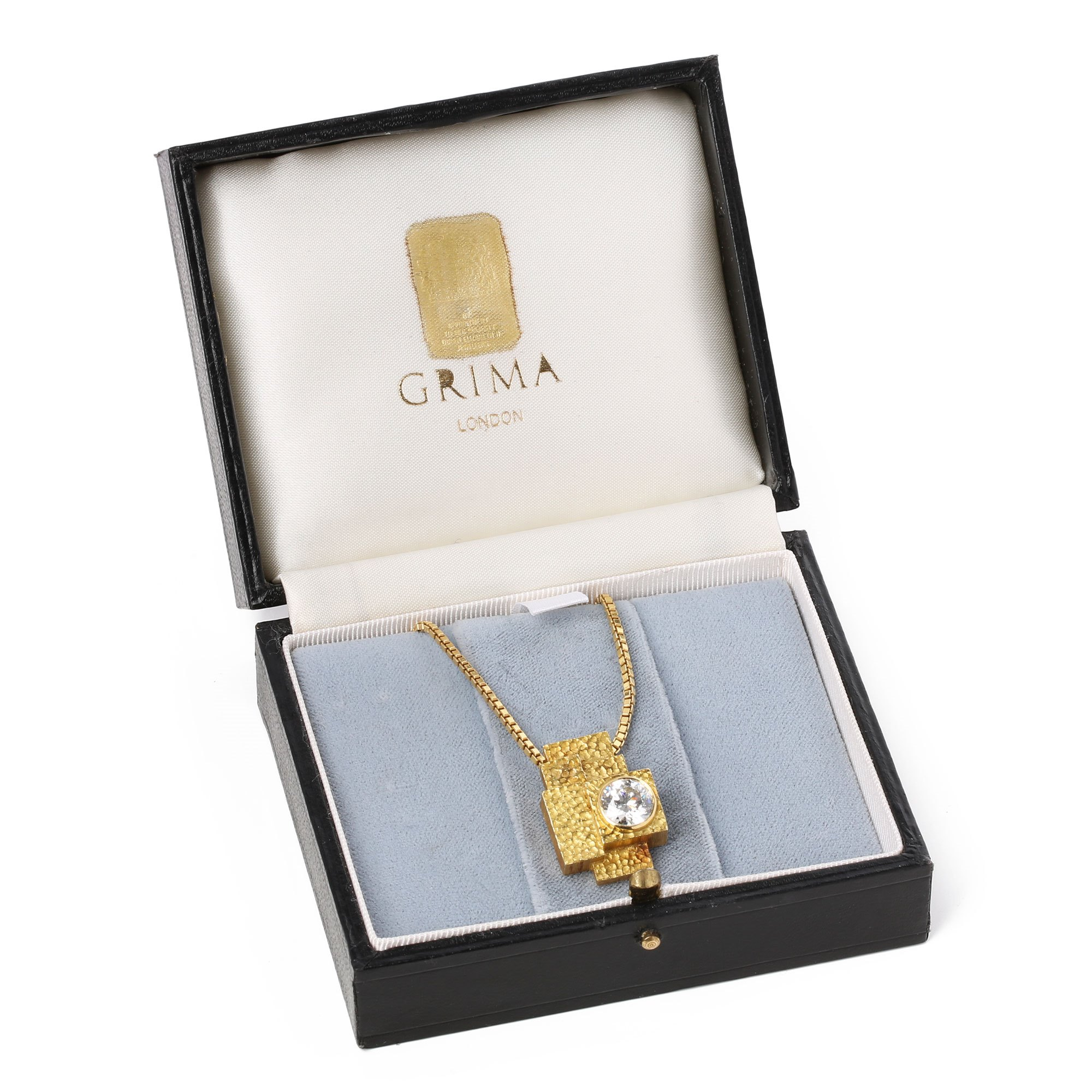 Grima 2.18ct Diamond Bespoke Pendant Necklace