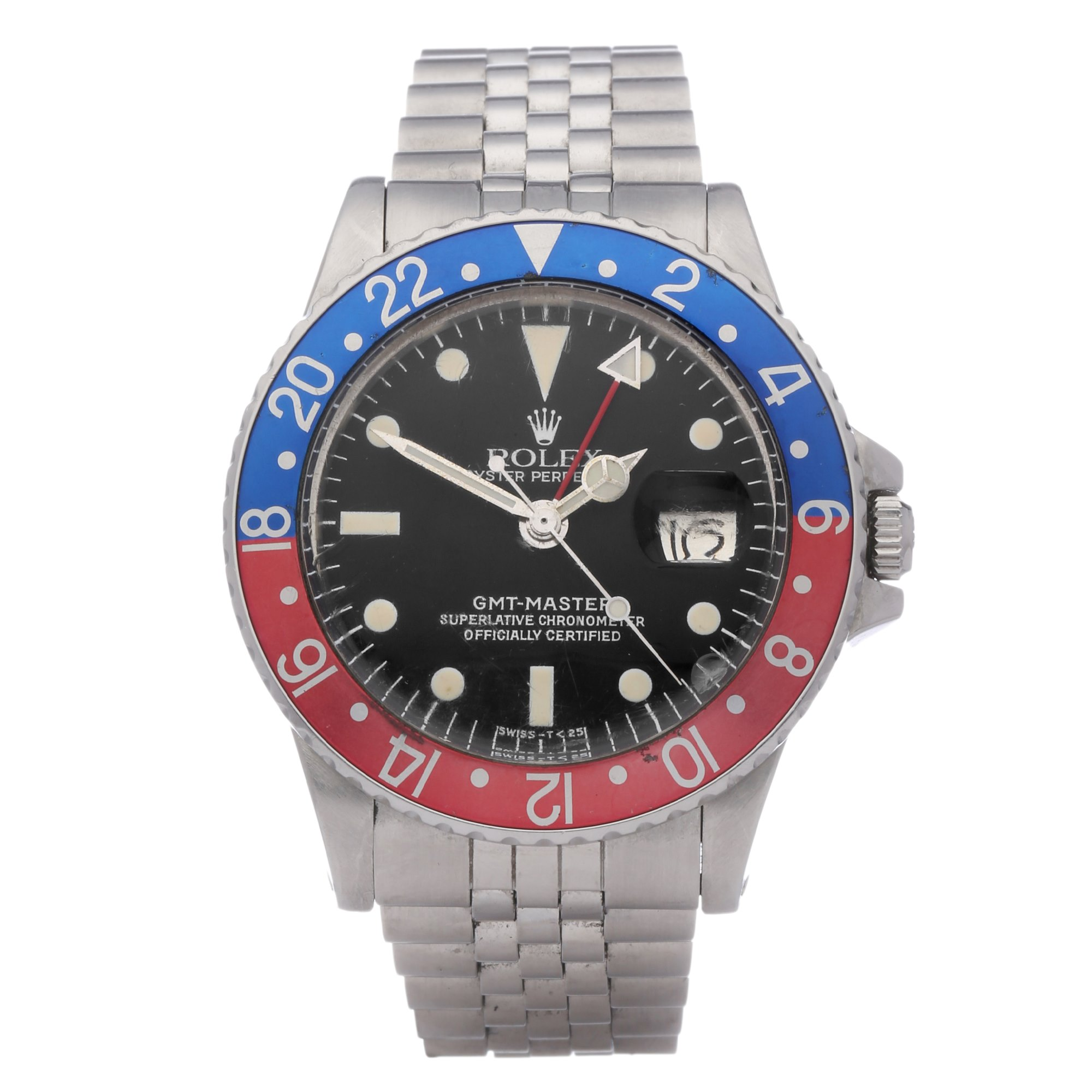 Rolex GMT-Master Roestvrij Staal 1675