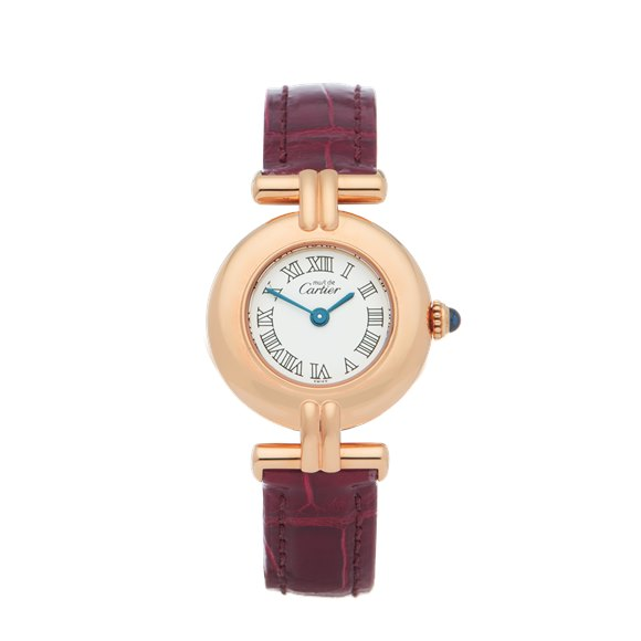 Cartier Colisee 18K Gold Plated - W1011554