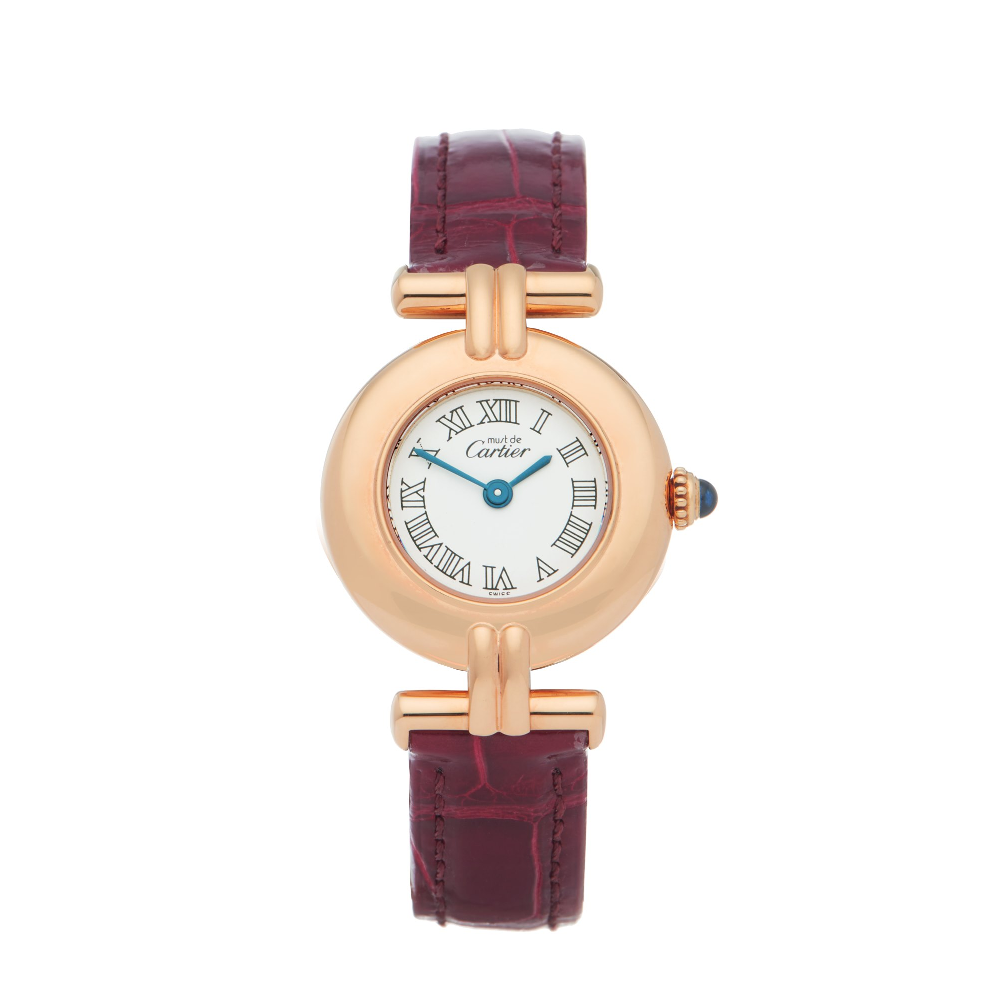 Cartier Colisee 18K Gold Plated W1011554