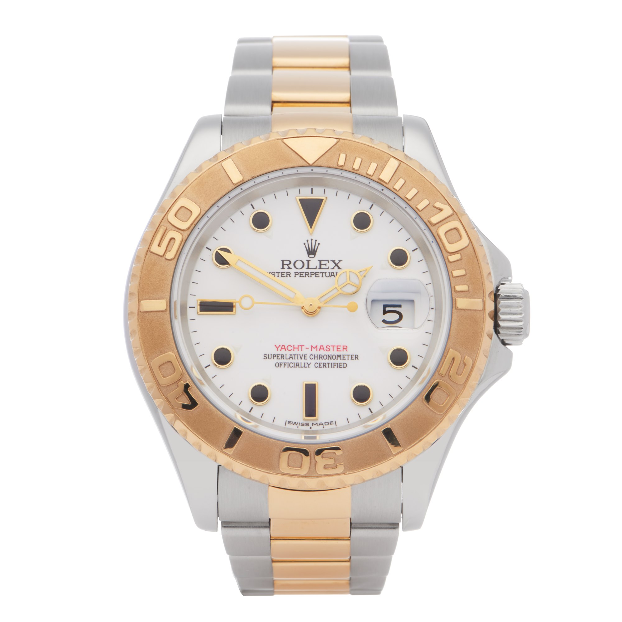 Rolex Yacht-Master 18K Yellow Gold & Stainless Steel 16623
