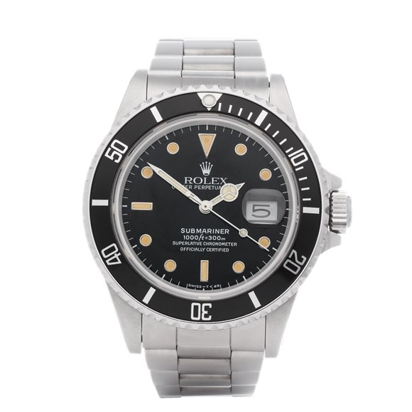 Rolex Submariner 'Spider Dial' Stainless Steel - 168000