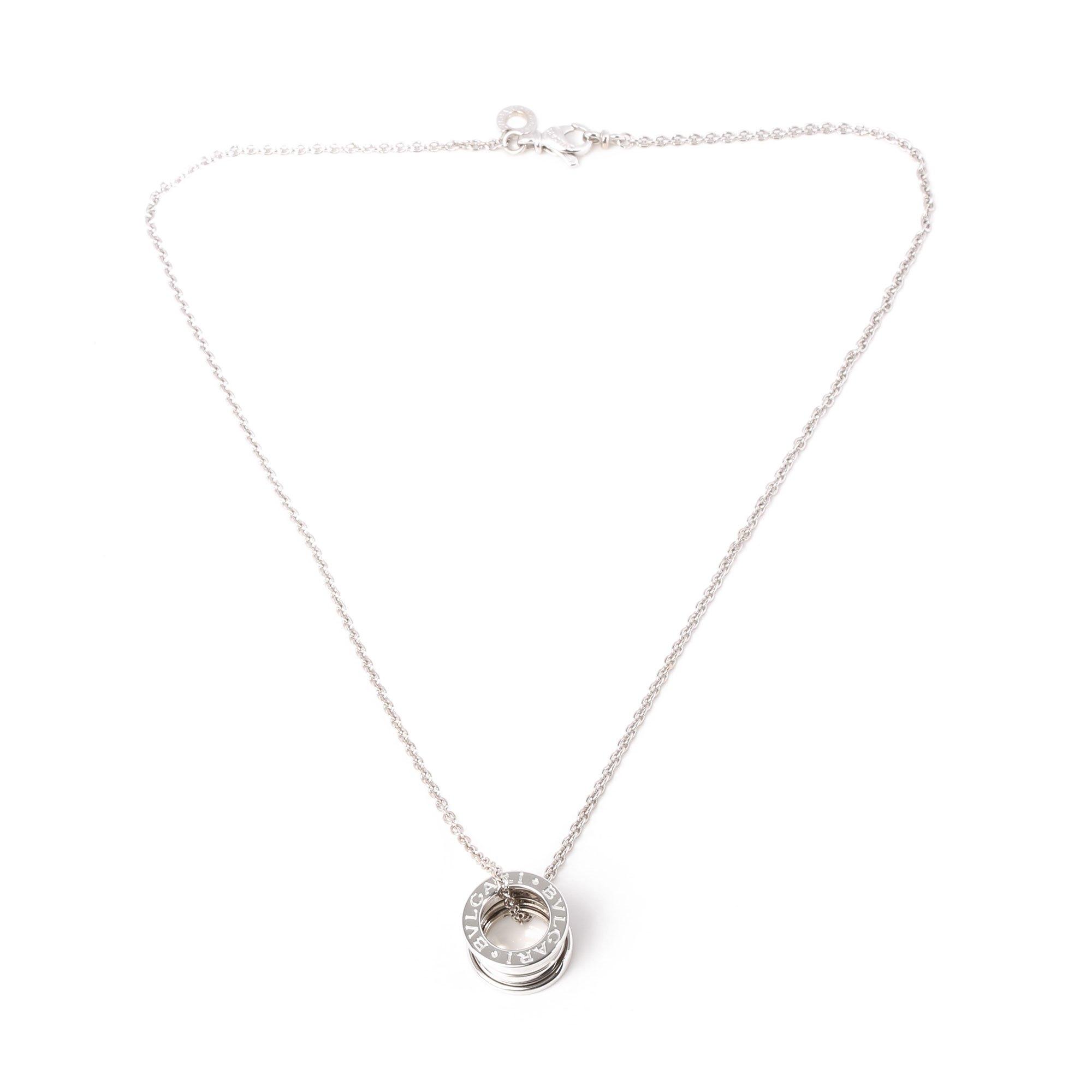 Bulgari B Zero 1 Pendant Necklace