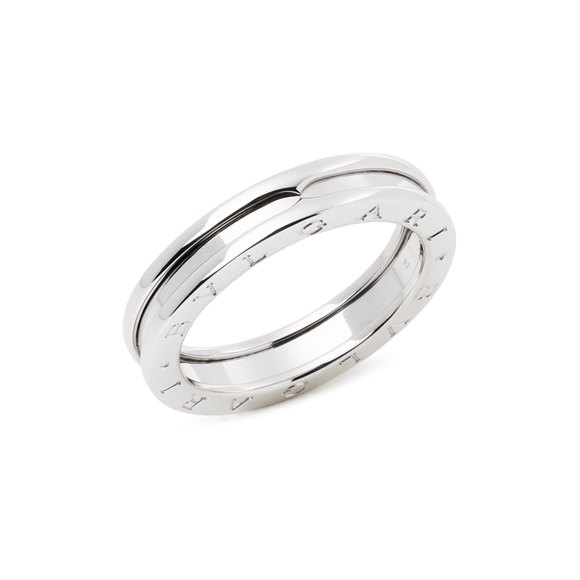 Bulgari B Zero 1 One Row Band Ring
