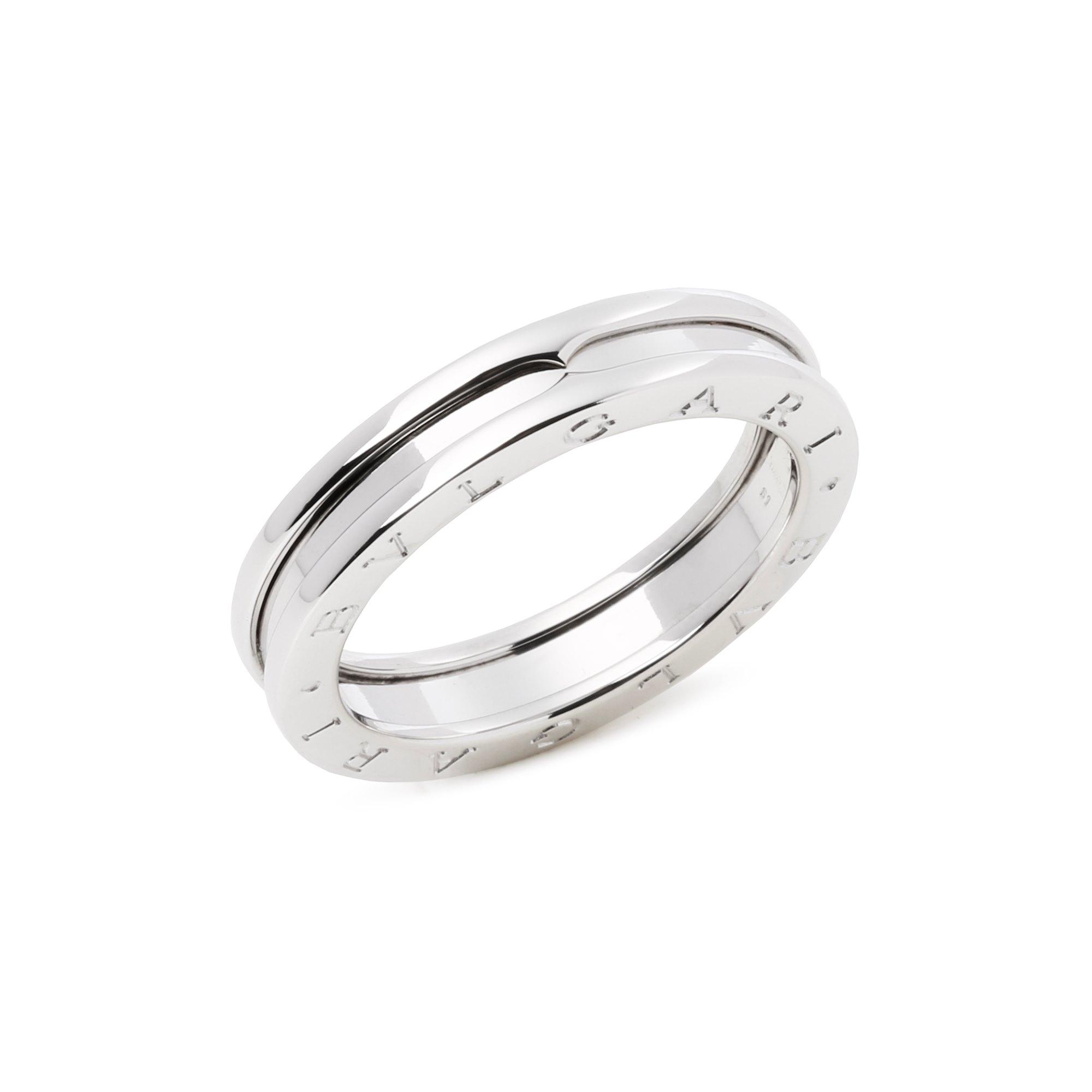 Bulgari B Zero 1 One Row Band Ring