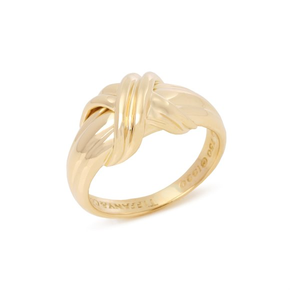 Tiffany & Co. Signature X Kiss Ring