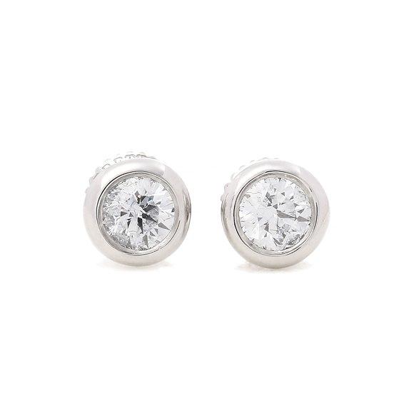 Tiffany & Co. Diamonds by the Yard 0.70ct Diamond Stud Earrings