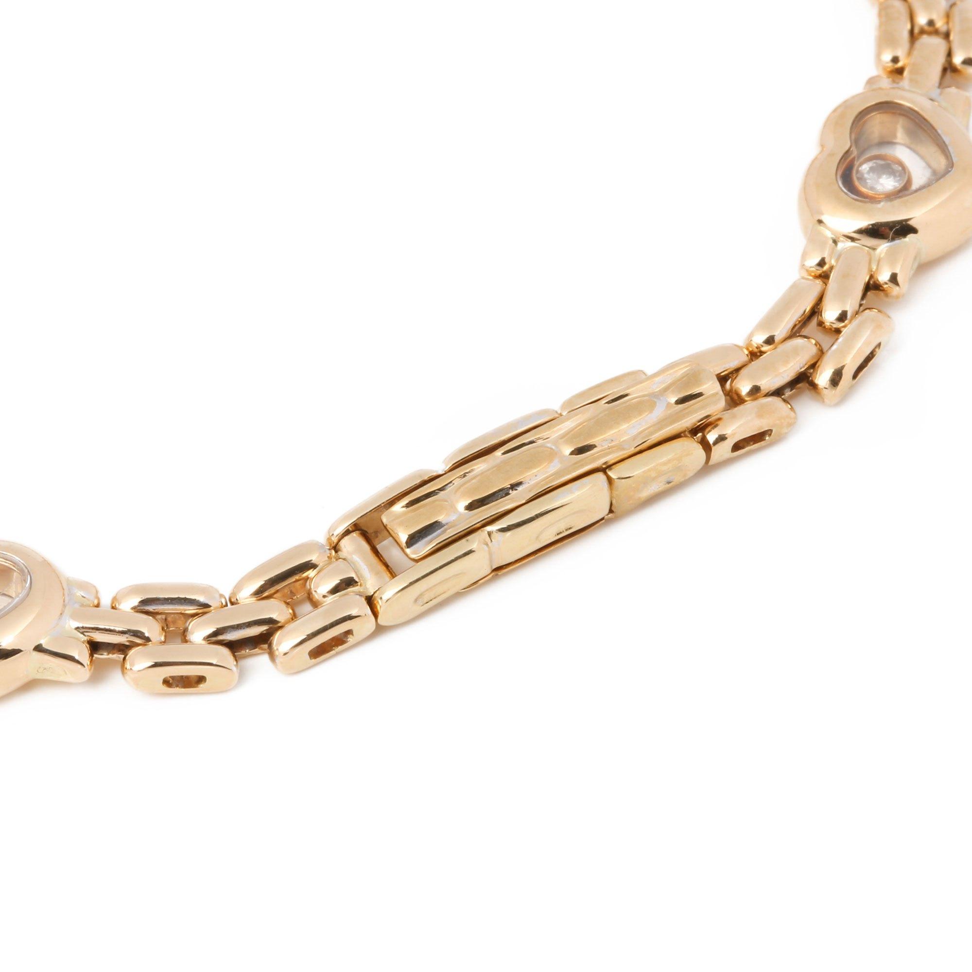 Chopard Happy Hearts Link Bracelet