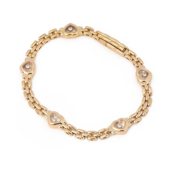 Chopard Happy Hearts Link Bracelet