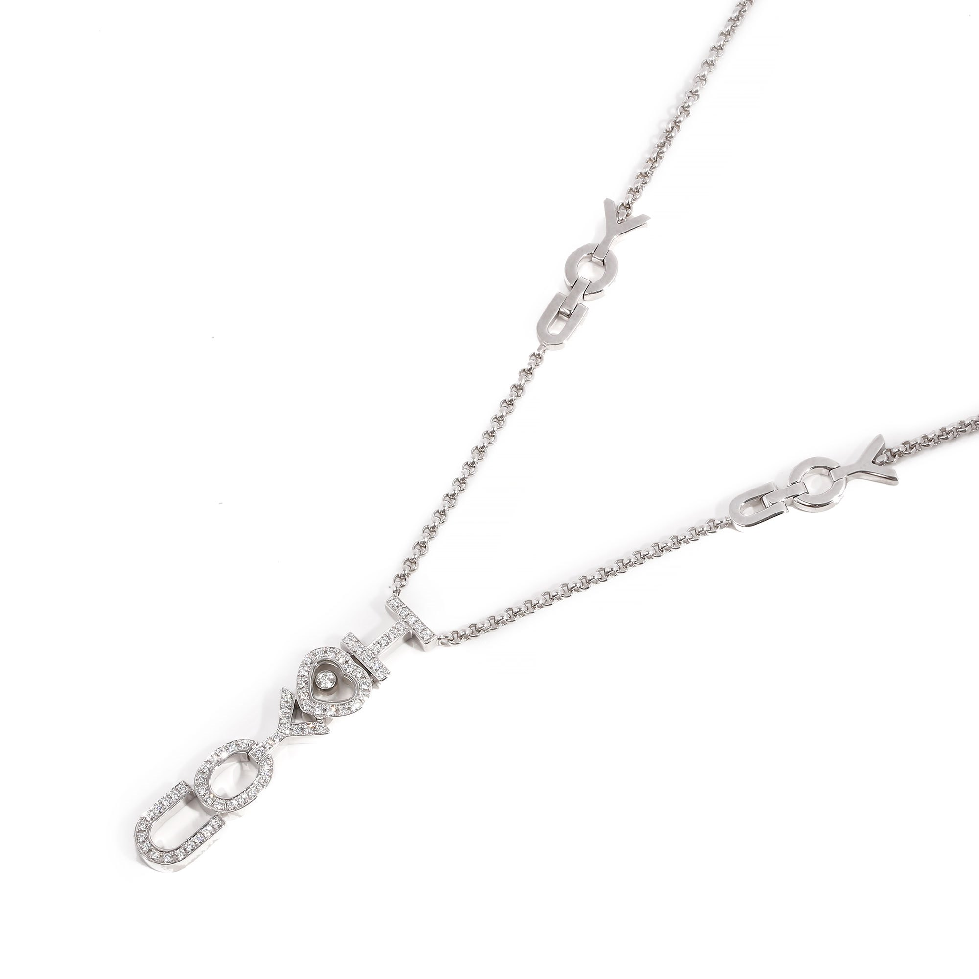Chopard I love you pendant
