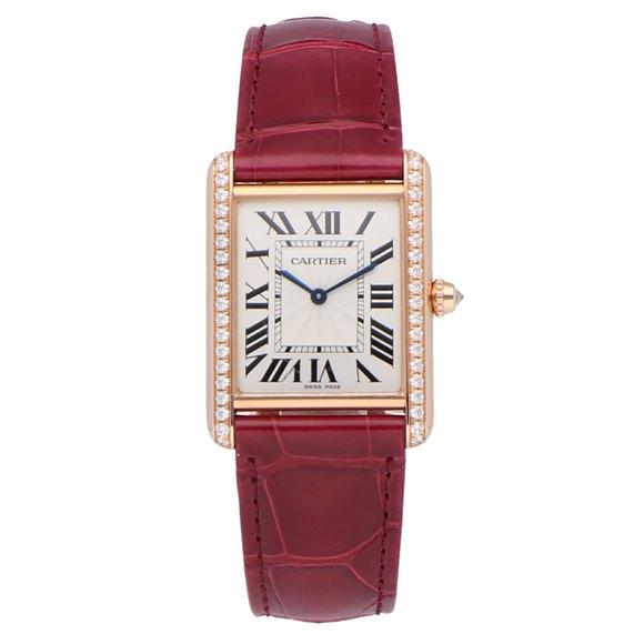 Cartier Tank Louis Rose Gold - WJTA0014
