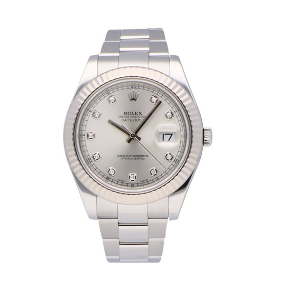 Rolex Datejust 41 Stainless Steel - 116334