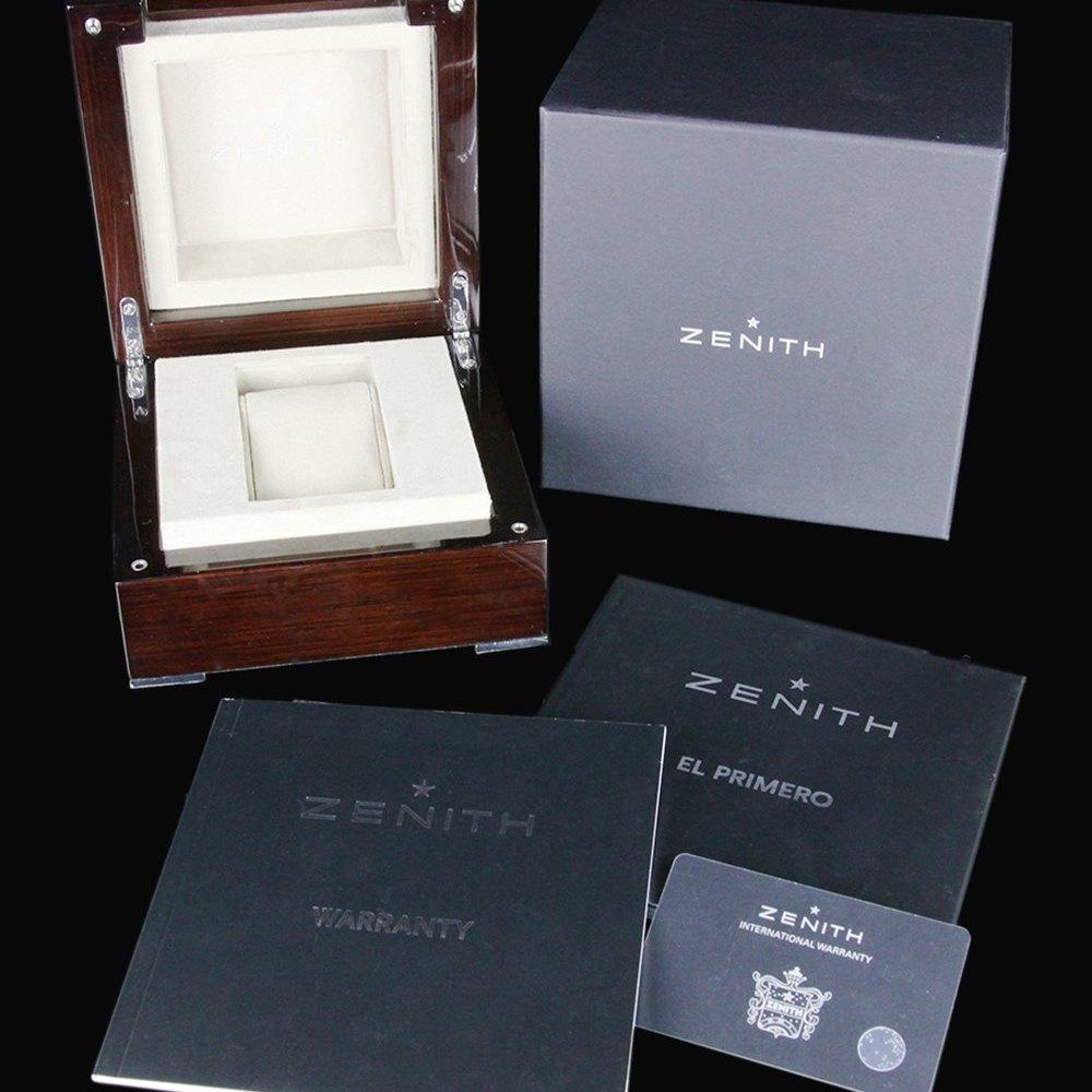 Zenith El Primero 36'000 VPH Chronograph Stainless Steel 03215040069C713