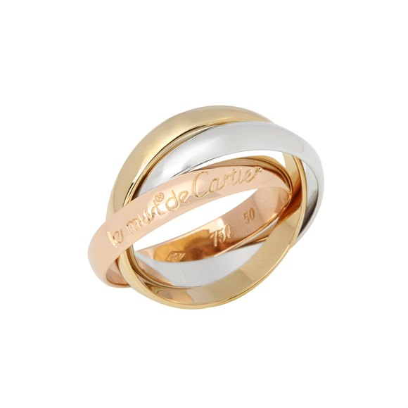 Cartier Le Must de Cartier Tri Colour Ring