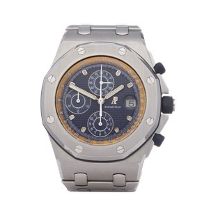 Audemars Piguet Royal Oak Offshore 'The Beast' Tropical Tachymeter Scale Stainless Steel - 25721ST.O.1000ST.01
