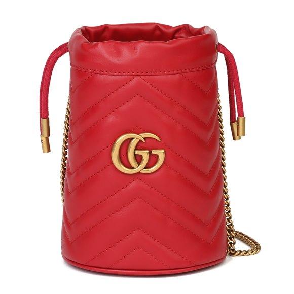 Mini Marmont Bucket Bag