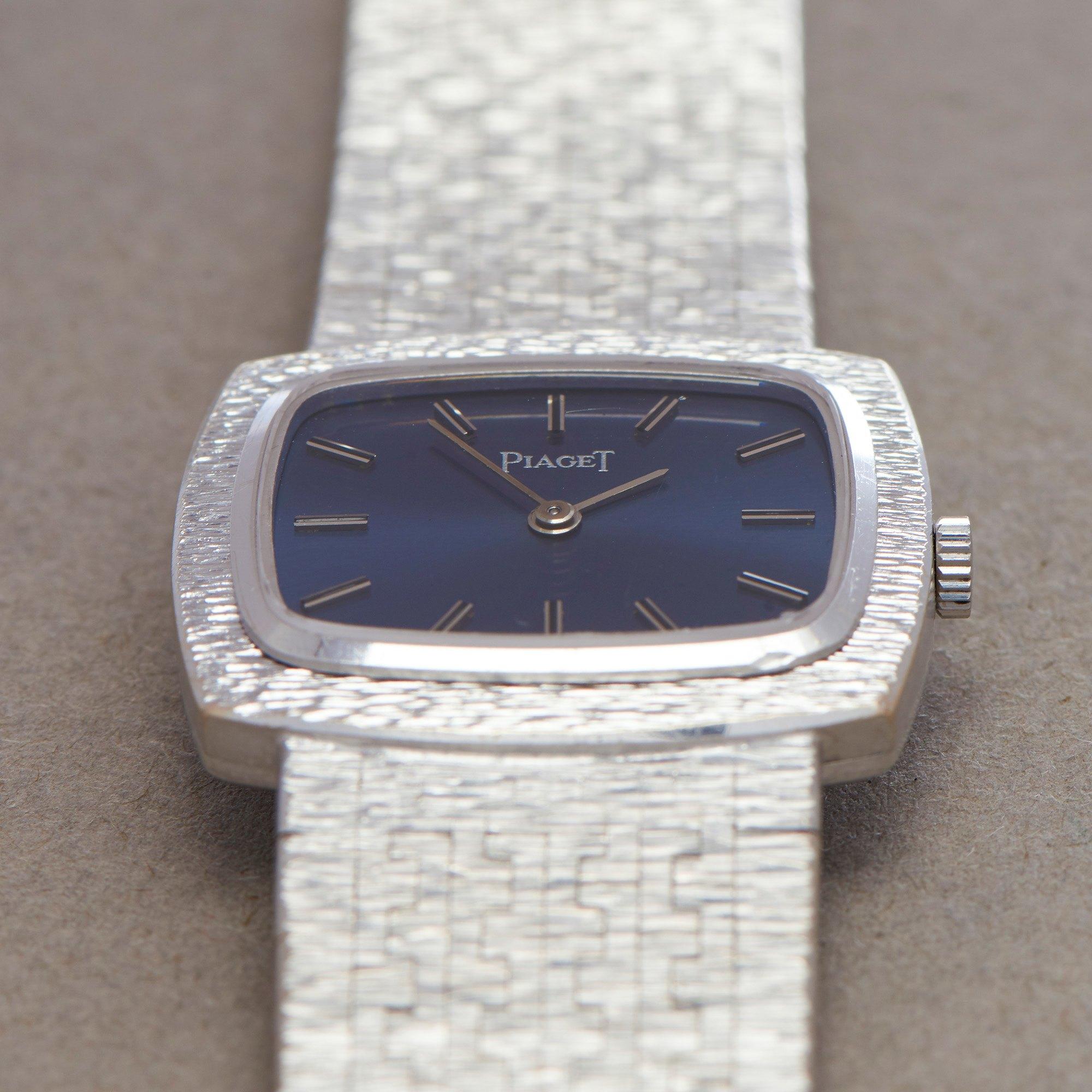 Piaget Vintage 18K White Gold 9562A6