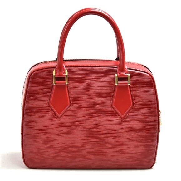 Louis Vuitton Red Epi Leather Vintage Sablon
