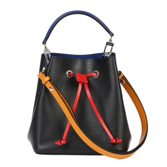 Louis Vuitton Black Epi Leather & Red, Navy Calfskin Leather NéoNoé