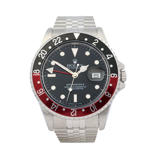 Rolex GMT-Master II 'Coke' Stainless Steel - 16710