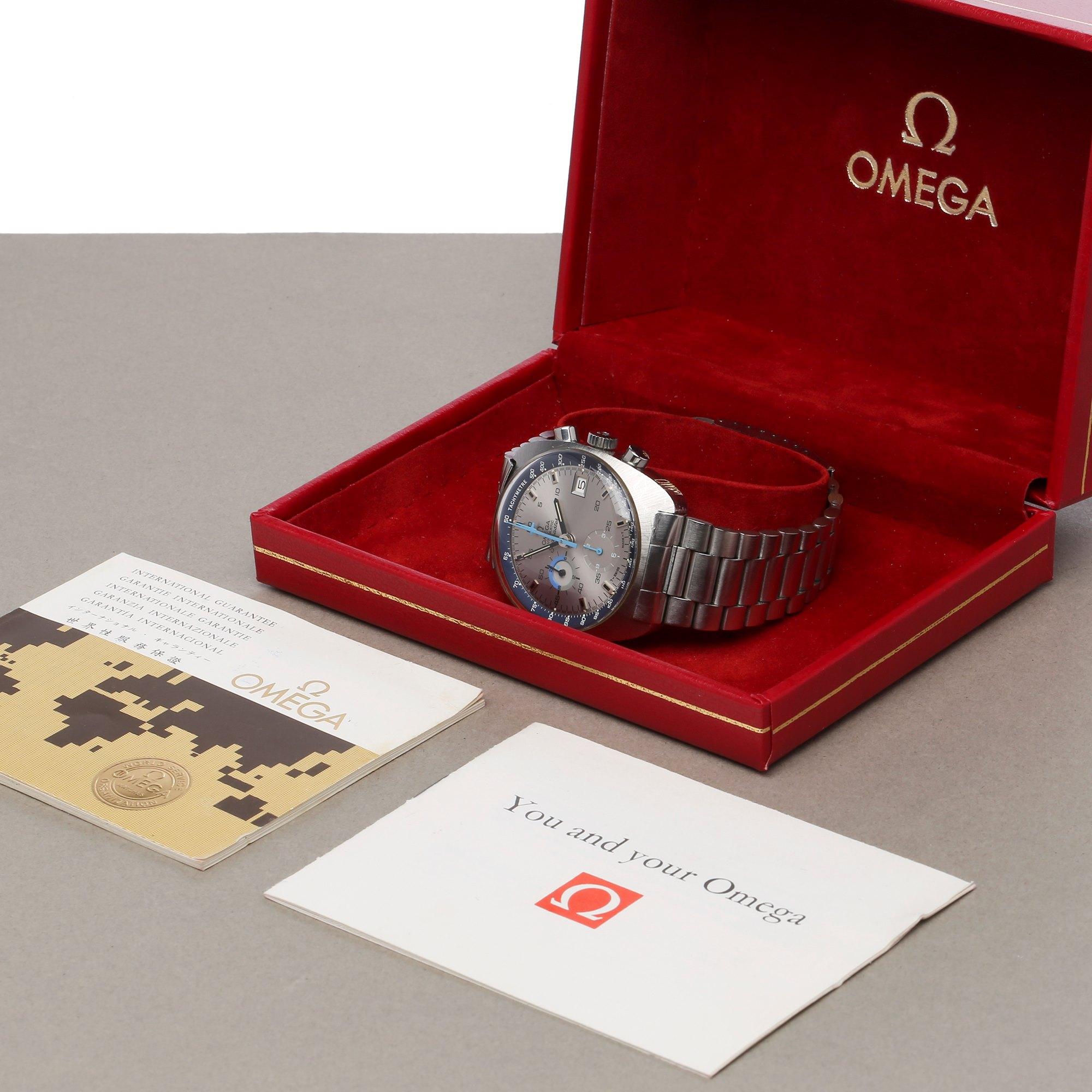 Omega Seamaster Chronograaf Roestvrij Staal 167.007
