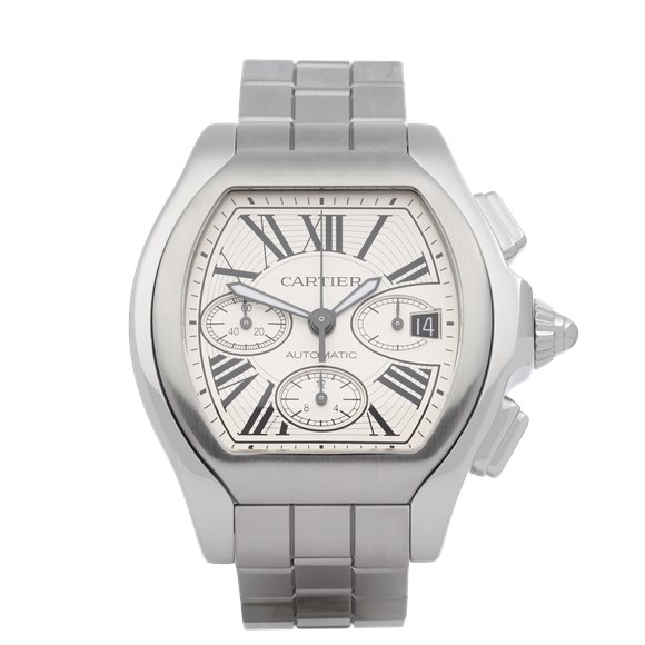 Cartier Roadster XL Chronograph Stainless Steel - W6206019 or 3405
