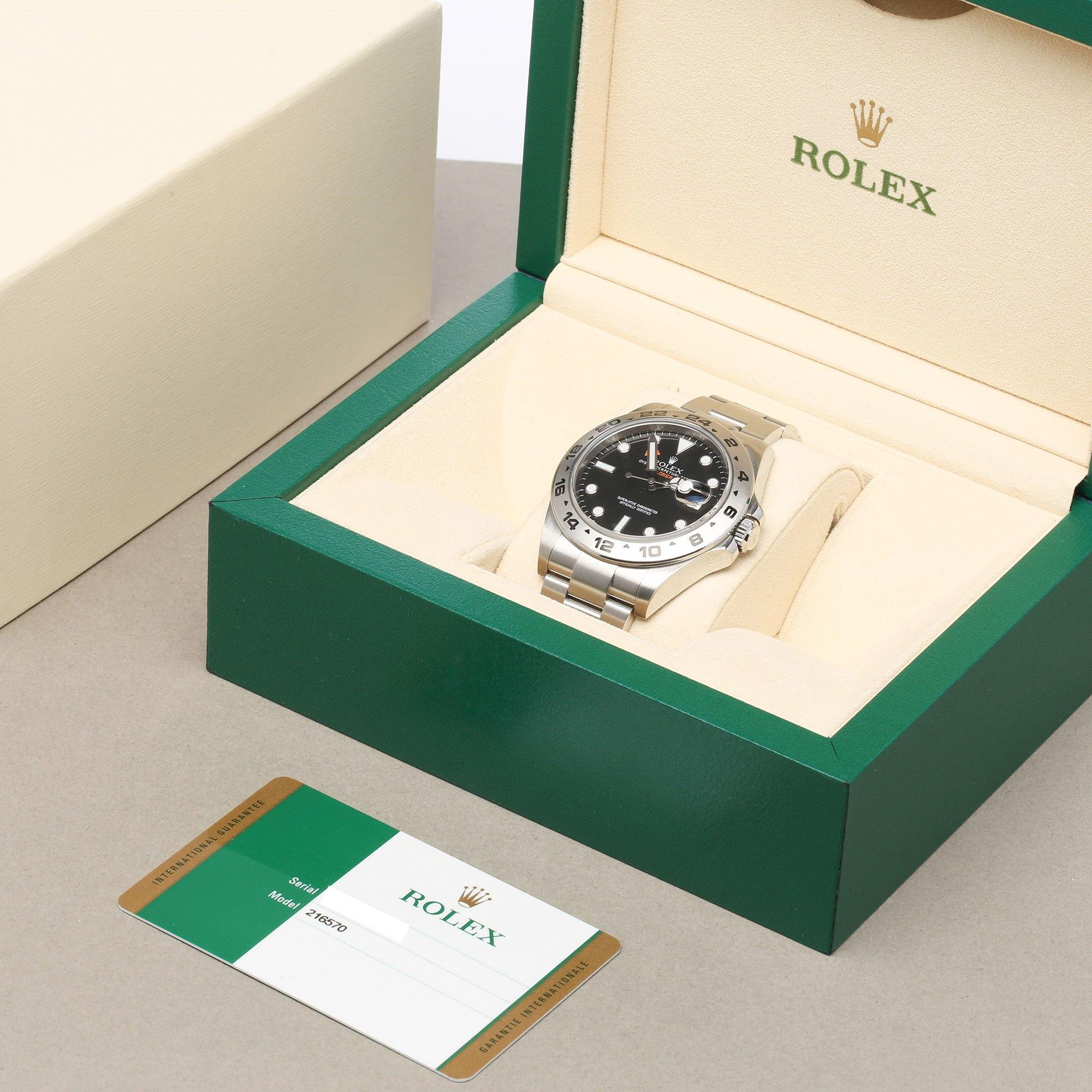 Rolex Explorer II Stainless Steel 216570