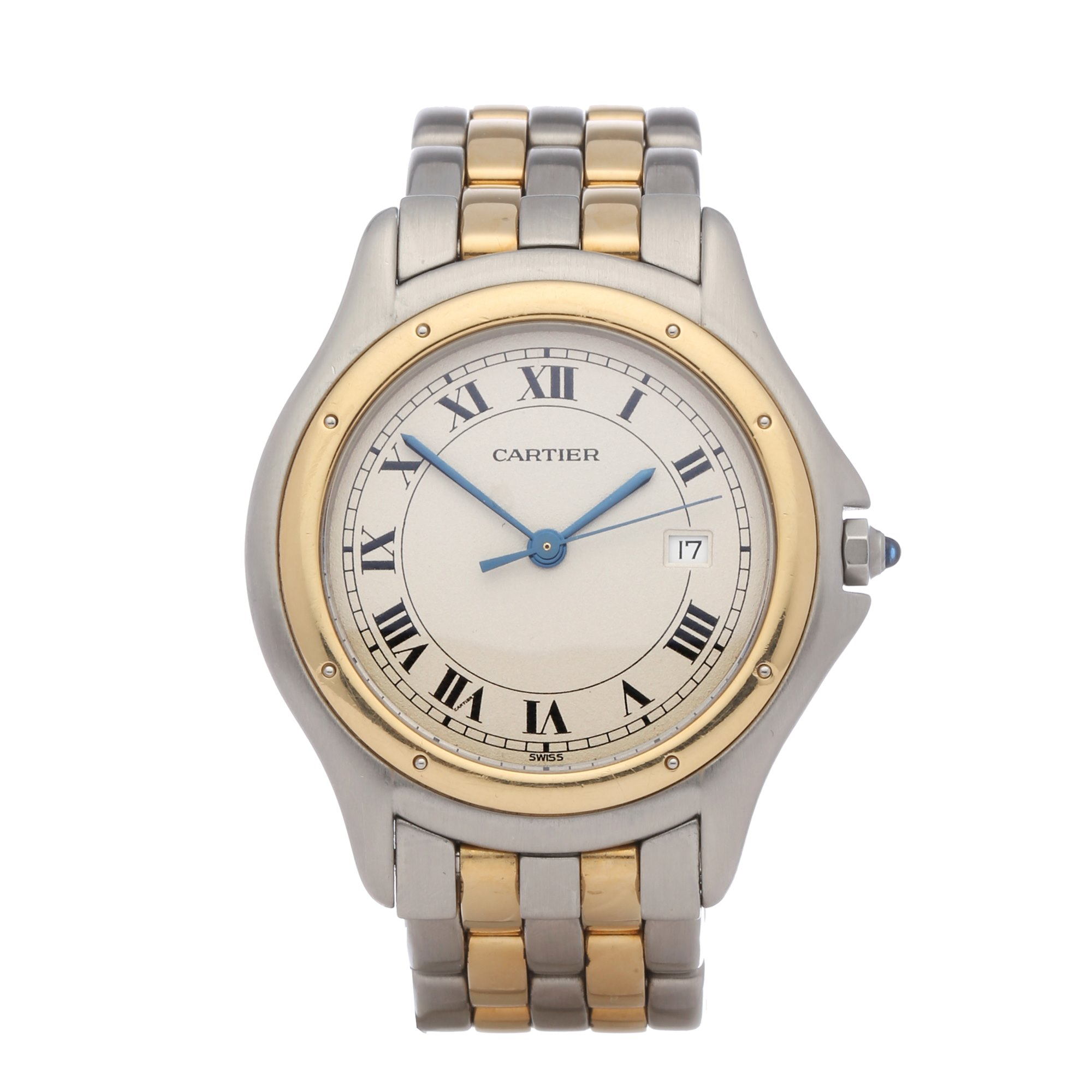 Cartier Panthère 18K Yellow Gold & Stainless Steel 187904