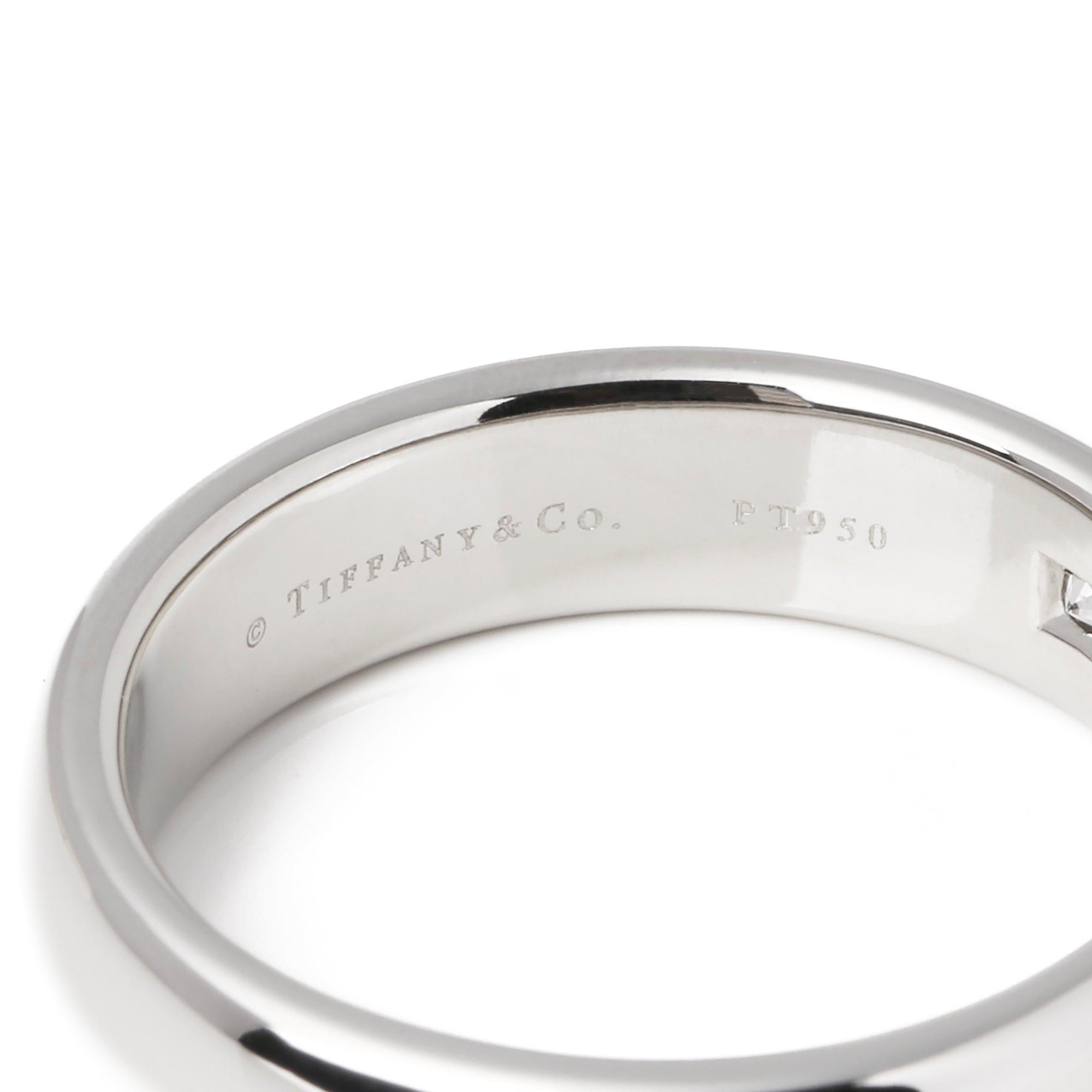 Tiffany & Co. Classic Wedding Band 1 Diamond
