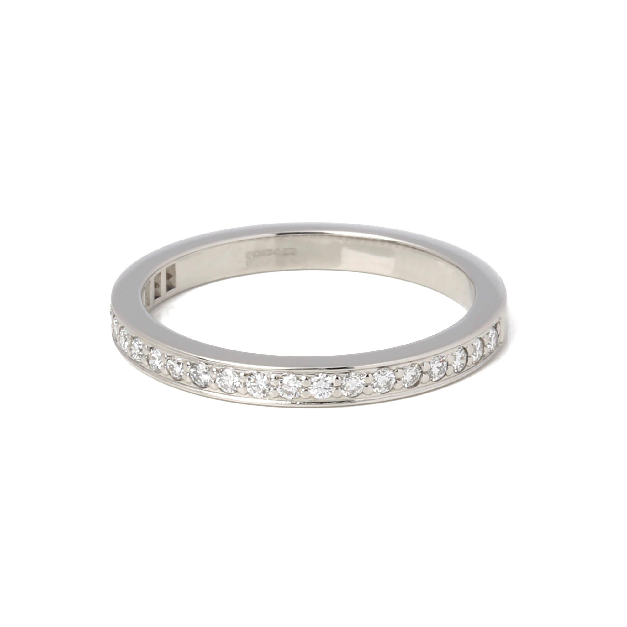 Tiffany & Co. Half Diamond Eternity Ring