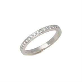 Tiffany & Co. Half Diamond Eternity Ring