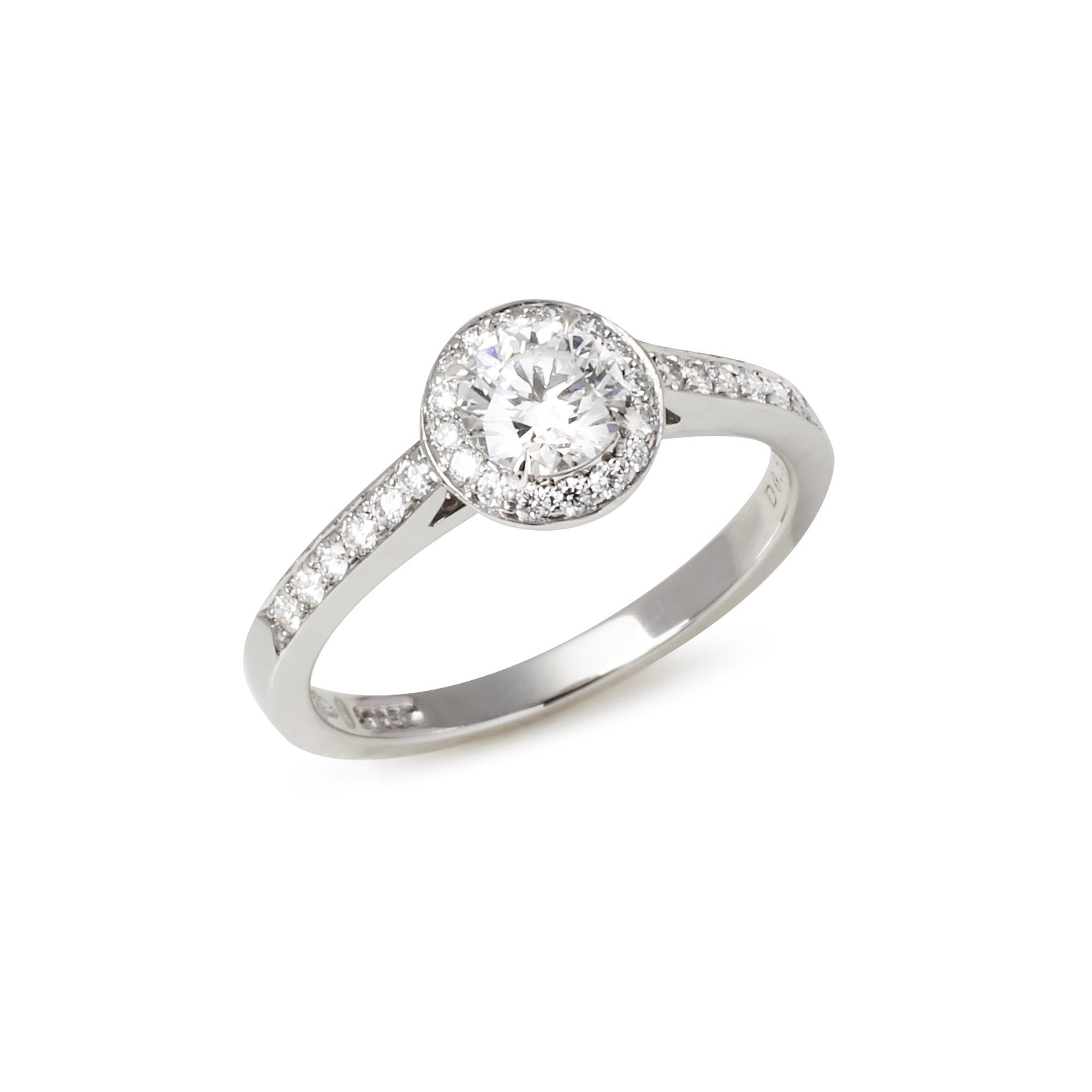 Tiffany & Co. Embrace Halo engagement ring