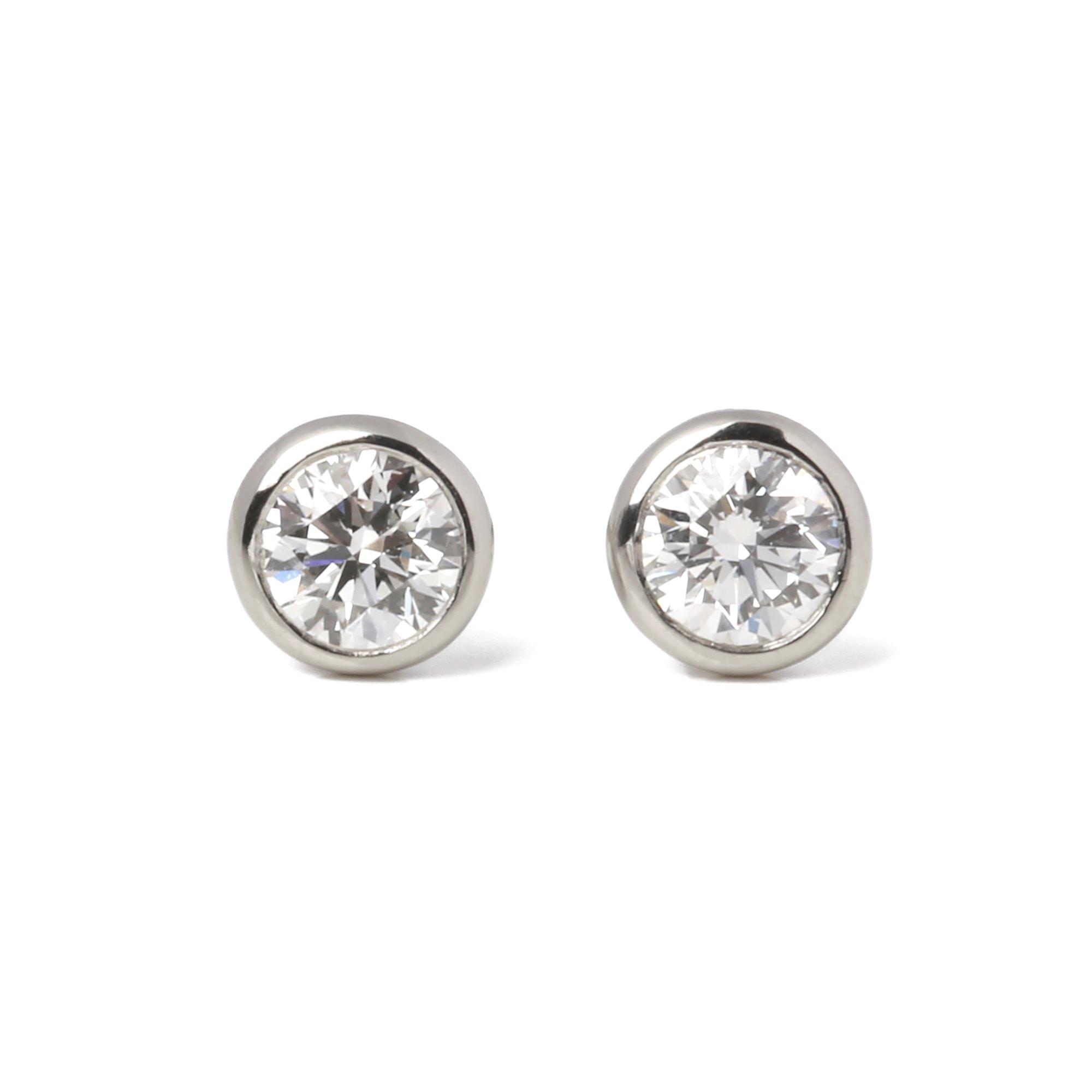 Tiffany & Co. Diamonds by the Yard 0.34ct stud earrings