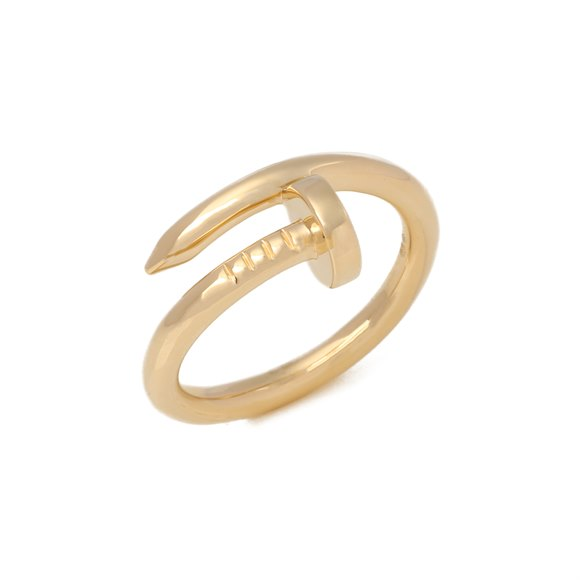 Cartier Juste un Clou Yellow Gold Ring