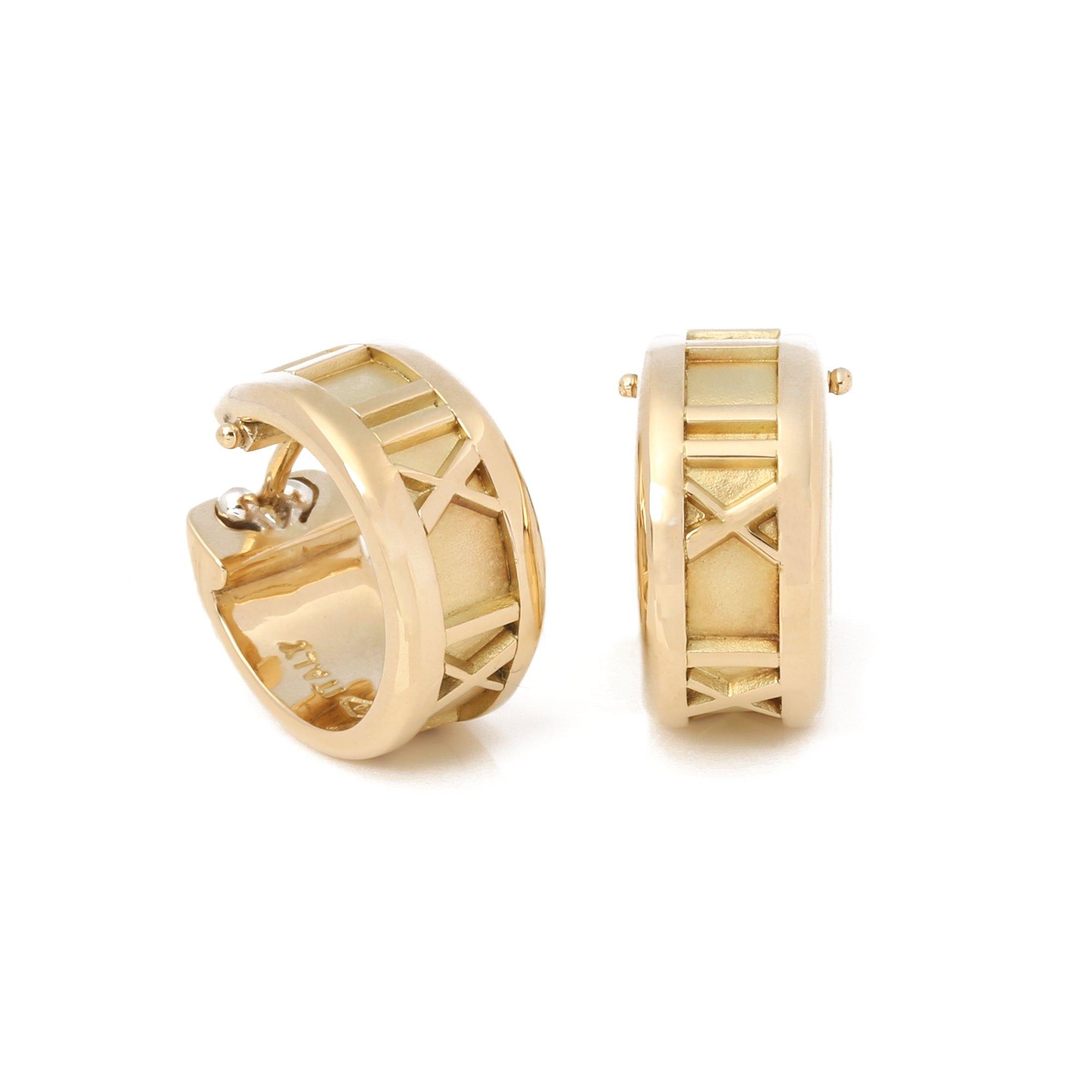 Tiffany & Co. Atlas Hoop Earrings