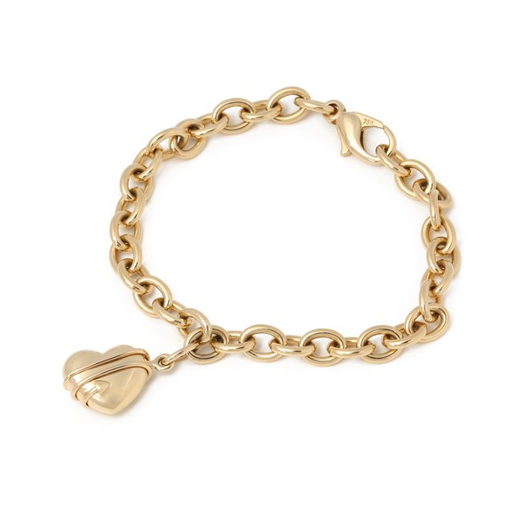 Tiffany & Co. Heart Charm Bracelet