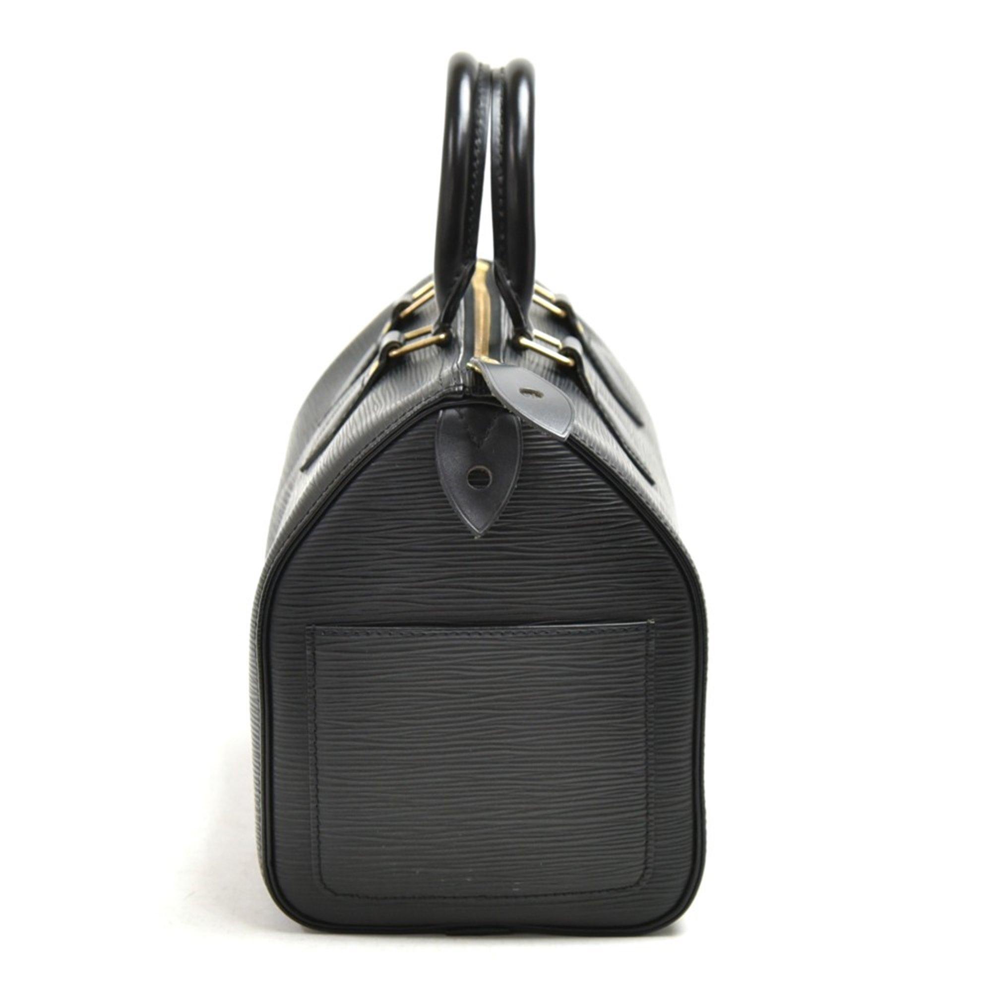 Louis Vuitton Black Epi Leather Vintage Speedy 25cm