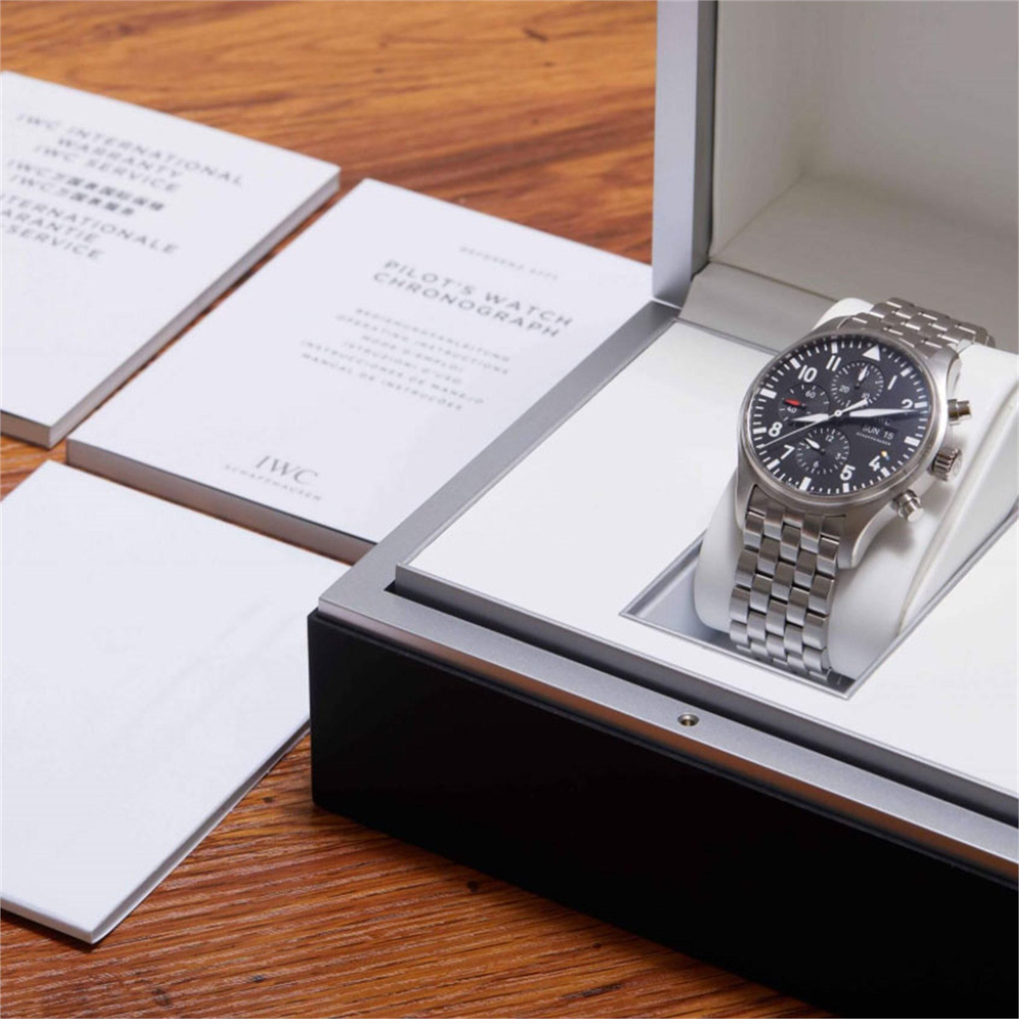 IWC Pilot's Chronograph Stainless Steel IW377701