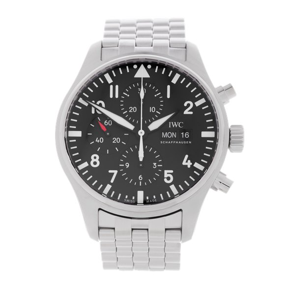 IWC Pilot's Chronograph Stainless Steel - IW377701