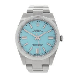 Rolex Oyster Perpetual 'Tiffany Blue' Stainless Steel - 124300