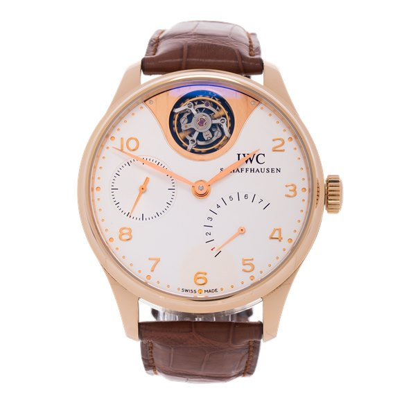 IWC Portuguese Tourbillion Mystere 18K Rose Gold - IW504202