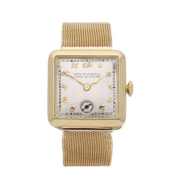 Patek Philippe Vintage 18K Yellow Gold