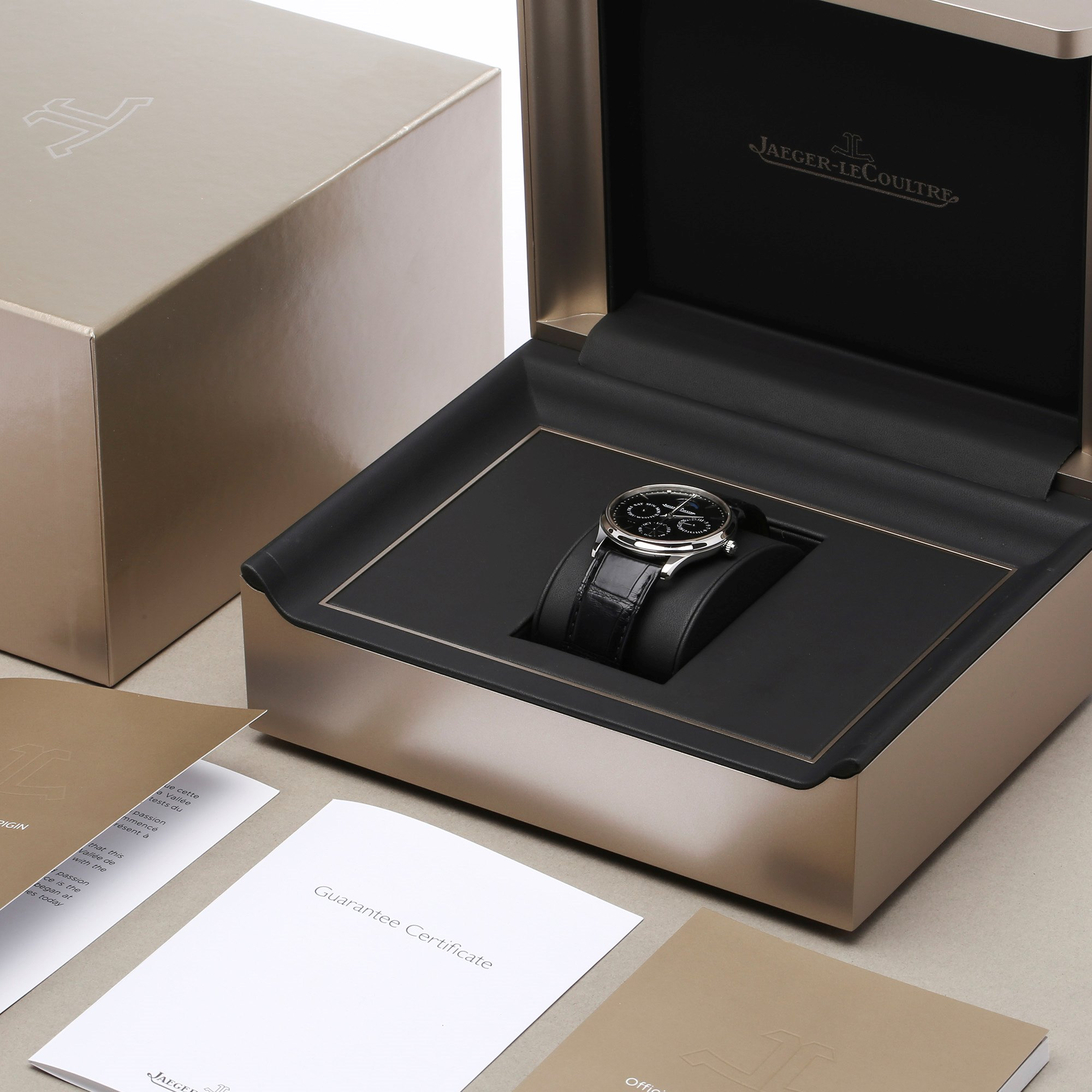 Jaeger-LeCoultre Master Ultra Thin Perpetual Stainless Steel 130.84.70