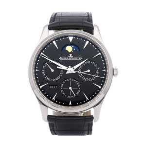Jaeger-LeCoultre Master Ultra Thin Perpetual Stainless Steel - 130.84.70