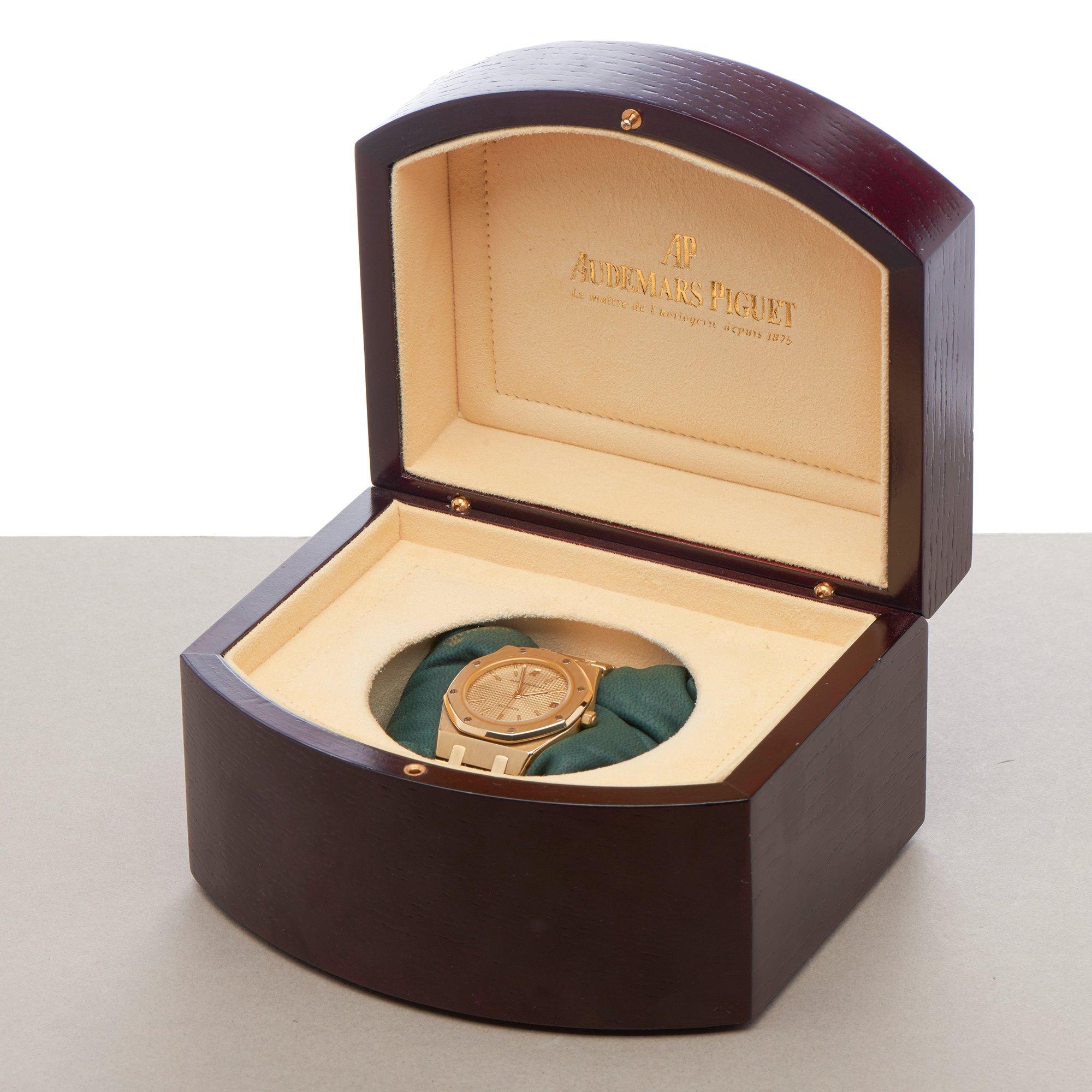 Audemars Piguet Royal Oak 18K Yellow Gold 4100BA